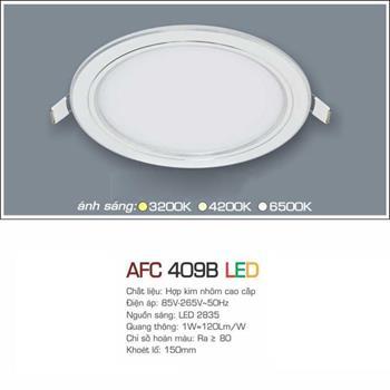Đèn âm trần siêu mỏng cao cấp Anfaco AFC 409B AFC 409B
