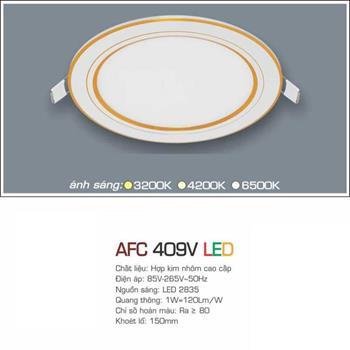 Đèn âm trần siêu mỏng cao cấp Anfaco AFC 409V AFC 409V