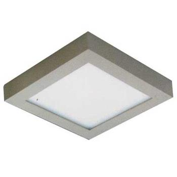 Đèn ốp trần cao cấp Anfaco Led 18W vuông, vỏ xám AFC 556 Xám LED 18W