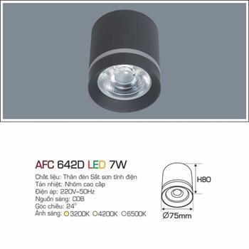 Đèn âm trần cao cấp Anfaco AFC 642D - 7W AFC 642D - 7W