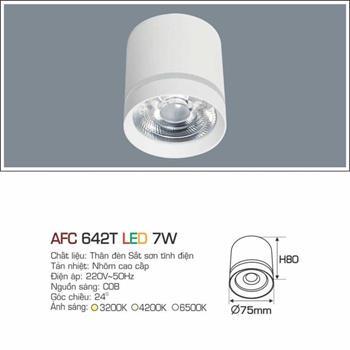 Đèn âm trần cao cấp Anfaco AFC 642T - 7W AFC 642T - 7W