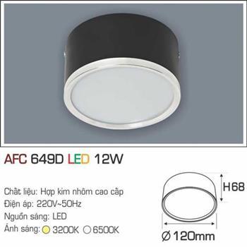 Đèn ốp nổi cao cấp Anfaco AFC 649D - 12W AFC 649D