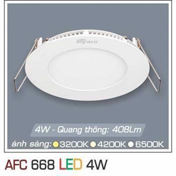 Đèn âm trần downlight Anfaco AFC 668 4W 1C AFC 668 4W 1C
