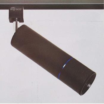 Đèn chiếu điểm cao cấp anfaco AFC 907D vỏ đen đế ray 12W AFC 907D