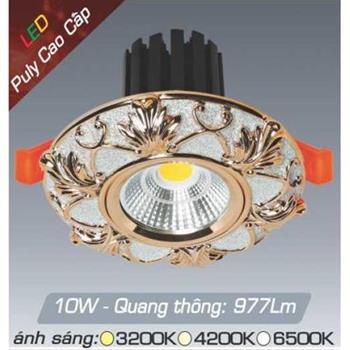 Đèn âm trần đồng puly cao cấp Anfaco AFC PULY 02B - 10W AFC PULY 02B - 10W