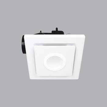 Quạt hút vuông loại ốp trần Ceiling có đèn AFCL-130S