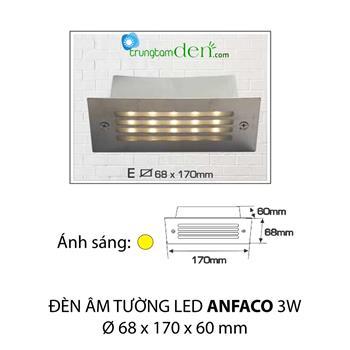 Đèn âm tường E 3W AMTUONG E 3W