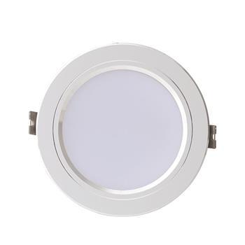 Đèn LED Âm trần Downlight Viền Bạc AT10 x/xW