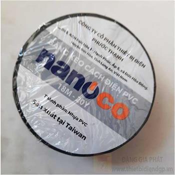 Băng Keo Cách Điện PVC Nanoco 10 Yard FKPT10