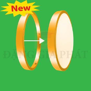 Viền đèn led ốp trần màu vàng BD30-G