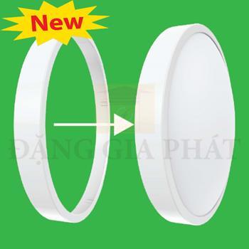 Viền đèn led ốp trần màu trắng 30W BD35-W