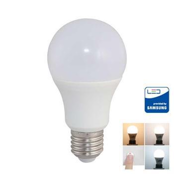 Bóng đèn Led bulb đổi màu Rạng đông 9W LED A60 ĐM/9W