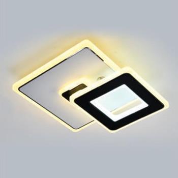 Đèn ốp trần vuông trang trí Ø200*H40, LED 30W, Xoay 180° BT-127