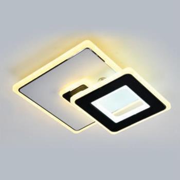 Đèn ốp trần vuông trang trí Ø240*H40, LED 45W, Xoay 180° BT-128