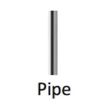 BY118Z Pipe ống nối 100mm BY118Z Pipe