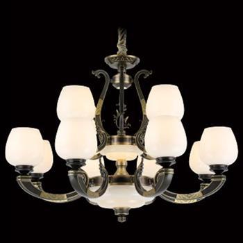 Đèn chùm nến hợp kim cao cấp Ø740*H550, E27*12 LED C-156/8+4