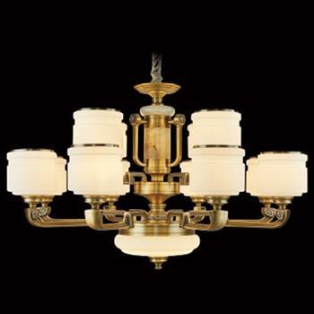 Đèn chùm nến hợp kim cao cấp Ø960*H620, E27*12 LED C-159/8+4
