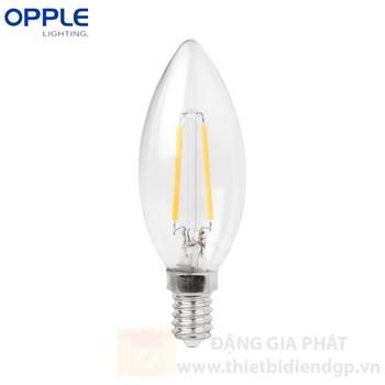 Đèn led Filament Candle Opple 2W E14 C35 E14 2W FILA