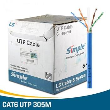 Cáp mạng cat6 UTP màu xanh UTP-G-C6G-E1VN-X 0.5X004P/BL