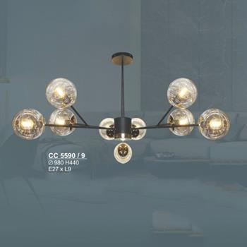 Đèn chùm cổ điển sang trọng Ø980*H440, E27*9Lamp CC 5590/9