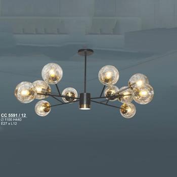 Đèn chùm cổ điển sang trọng Ø1100*H440, E27*12 Lamp CC 5591/12