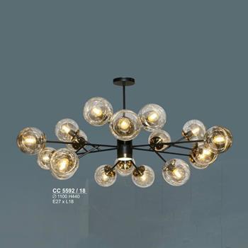 Đèn chùm cổ điển sang trọng Ø1100*H440, E27*18 Lamp CC 5592/18