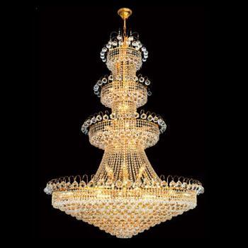 Đèn Chùm Pha Lê Ø1200*H1800, 633 Hạt - E14*38 CFL-A118