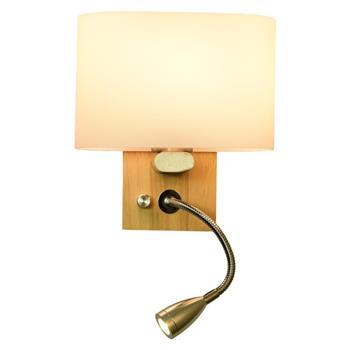 Đèn gắn tường đầu giường ngủ chân gỗ Venus CL8822 CL8822