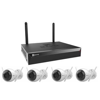 Bộ Kit IP WiFi Ezviz 4 kênh CS-BW3424B0-E40