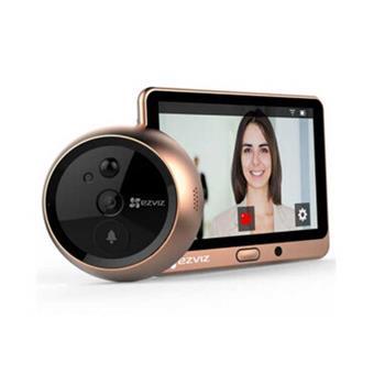 Chuông cửa và màn hình wifi không dây sử dụng pin sạc DP1 CS-DP1-A0-4A1WPFBSR