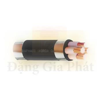 Cáp điện lực hạ thế CXV 4 lõi (3+1 nối đất), Cu/XLPE/PVC - 0.6/1kV - TCVN 5935 CXV 3xX+1xX