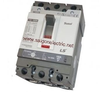 Thiết bị đóng cắt chống rò điện MCCB 3P 400A 65KA ATU: Adjustable thermal, Adjustable TS400N ATU400 3P
