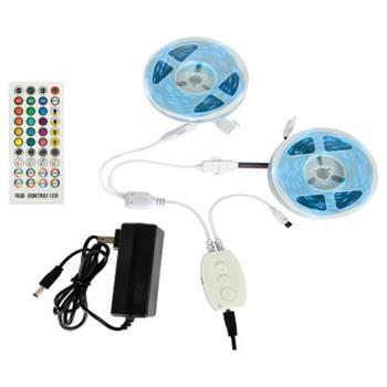 Dây Led 5050-RGB (1 đến 7 màu) Cuộn Dán: 2 Cuộn, 5m*12W*2 DAYLED-CD-04