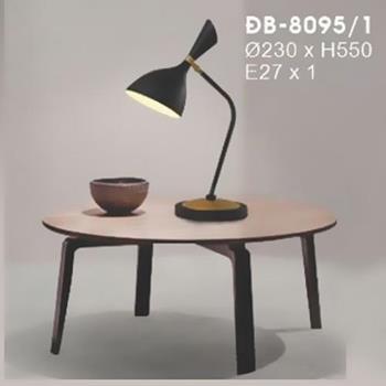 Đèn Bàn Nghệ Thuật E27 x 1, Ø230 x H550 ĐB-8095/1