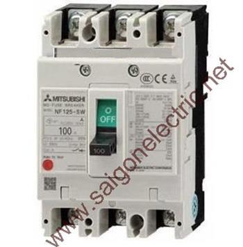 MCCB 3P chỉnh dòng 600-1250A 85kA NF1250-SEW 3P
