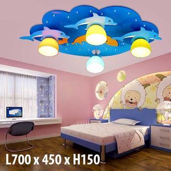 Đèn trần phòng trẻ em DEB-13 DEB-13