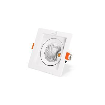Đèn led âm trần chiếu điểm COB Kingled vuông Ø180 30W DLR-30-V180
