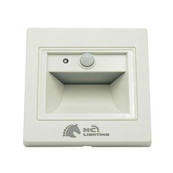 Đèn âm cầu thang cảm ứng (vỏ trắng) 1.5W ACT-MT-CU
