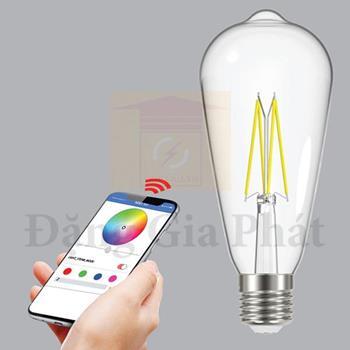 Đèn led bulb Filament 6W - 64 x 140mm FLM-6/ST64SC