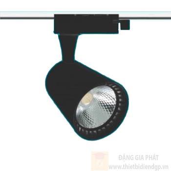 Đèn Led COB chiếu điểm 20W Ø90*H220, ánh sáng vàng, vỏ đen NP 03B-20W