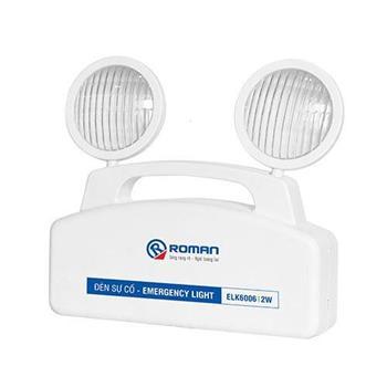 Đèn Led sự cố Roman 2W ELK6006/2W