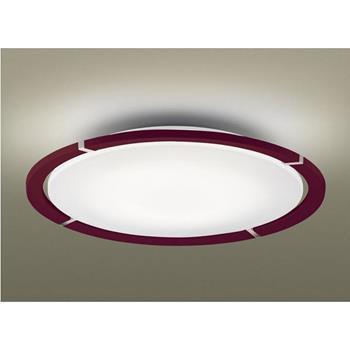 Đèn áp trần tròn, Led 47.2W, 0.22A, Ø800, viền màu đỏ sẫm, có remote HH-LAZ300719