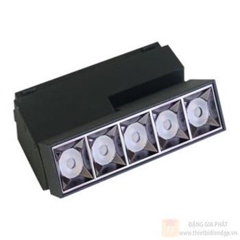 Đèn Led Duhal chiếu điểm - tán quang nam châm 5W DINC0051