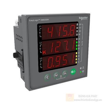 Đồng hồ đo VÀ PF% Unbalance METSEDM6000HCL10NC