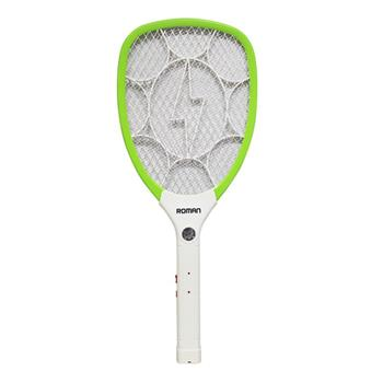 Vợt muỗi Roman - Có đèn pin có thể tháo rời ELG9007