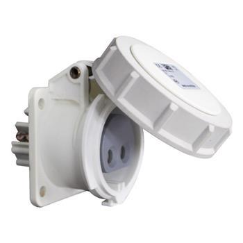 Ổ cắm nối loại kín nước 2P 24/42V 10H IP66/67 F3822-10F9V
