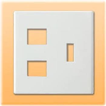 Mặt góc vuông dùng cho 1 CB  & 2 thiết bị FB7842H