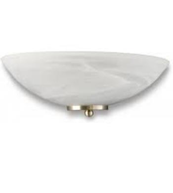 Đèn ốp tường  QWG300 White 300x150x105, bóng Tornado 12W (không gồm bóng)  QWG300 White