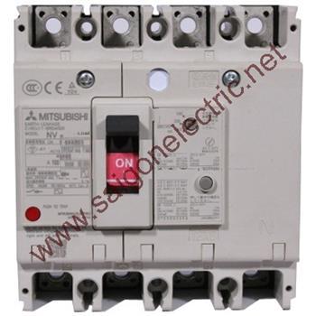 Thiết bị đóng cắt chống rò điện ELCB 4P 50kA 30/100/200/500mA NV125-HV(HS)