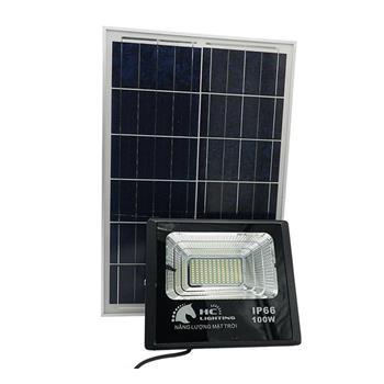 Đèn pha Led 100W năng lượng mặt trời FL100-NLMT
